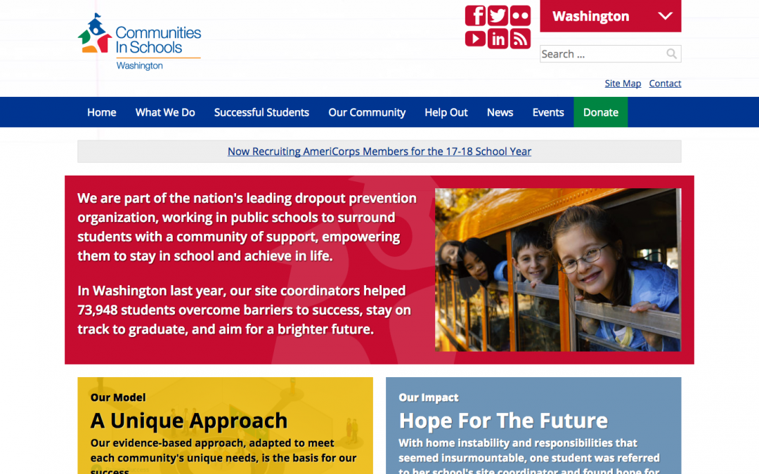 Communities in Schools Washington